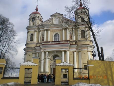 Wycieczka do Wilna - Wilno Piotra i Pawła