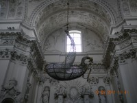 Jednodniowe wycieczki do Wilna - wnętrze Kościola Św. Piotra i Pawla